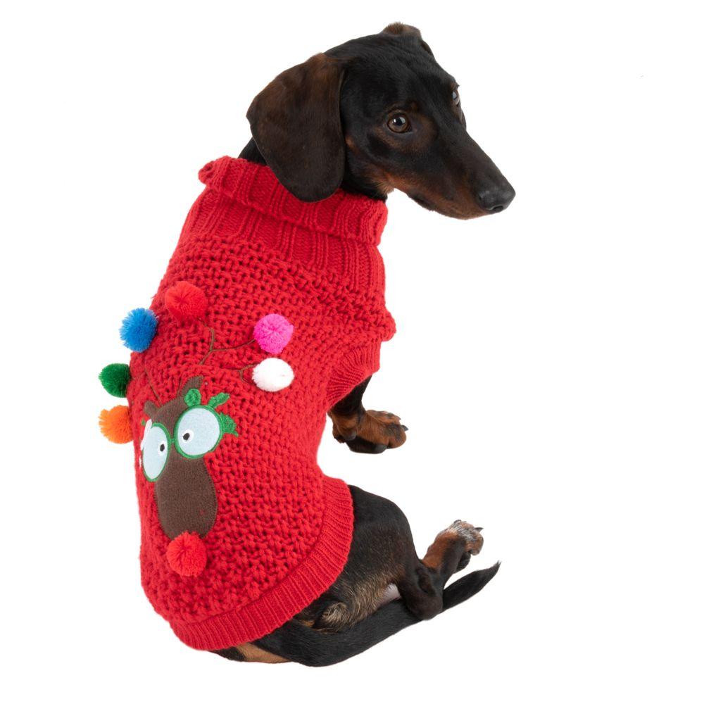 Rudi julegenser til hund